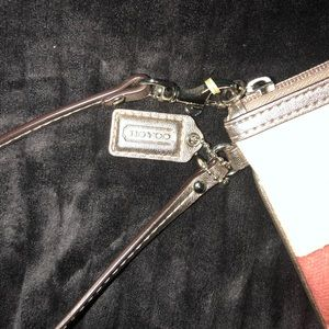 Never used before coach wrist wallet/ purse